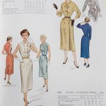 9492 + 9326 Mccalls 1954 Winter Vintage Pattern | 1950s Two Old Beans Vintage Clothing