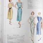 9495 + 9780 Mccalls 1954 Winter Vintage Pattern | 1950s Two Old Beans Vintage Clothing