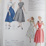 9789 + 9378 Mccalls 1954 Winter Vintage Pattern | 1950s Two Old Beans Vintage Clothing
