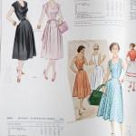 9838 + 9290 Mccalls 1954 Winter Vintage Pattern | 1950s Two Old Beans Vintage Clothing