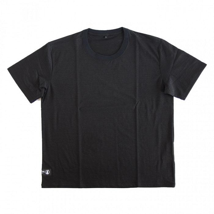 POUTNIK MONK Tee (ポートニック モンクTシャツ) Black - tilak (ティラック)