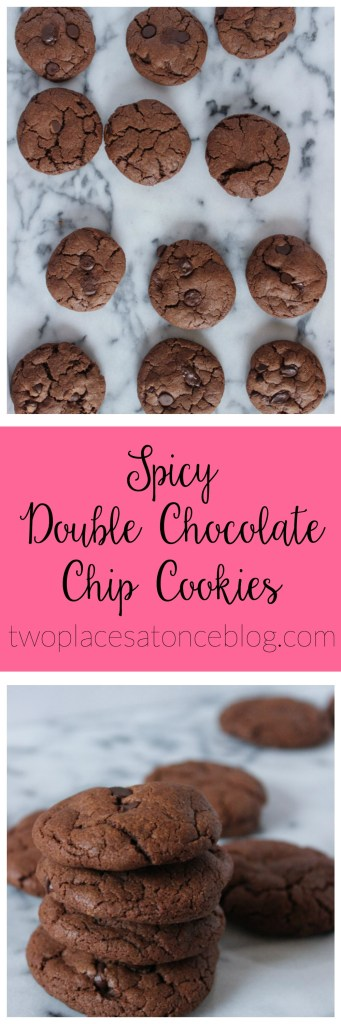 Spicy Double Chocolate Chips Cookies