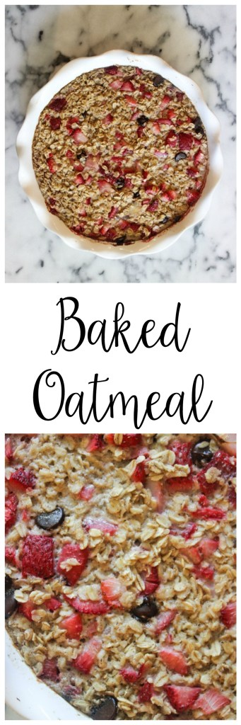 Baked Oatmeal | Two Places at Once
