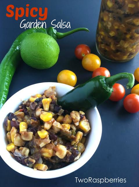 Spicy Garden Salsa