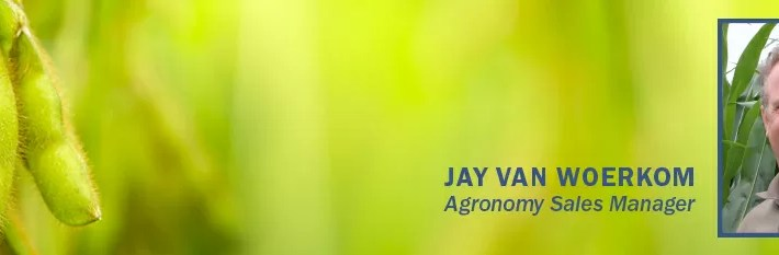 Intensive Managment: The Secret to High Yielding Soybeans by Jay Van Woerkom, Agromony Sales Manager