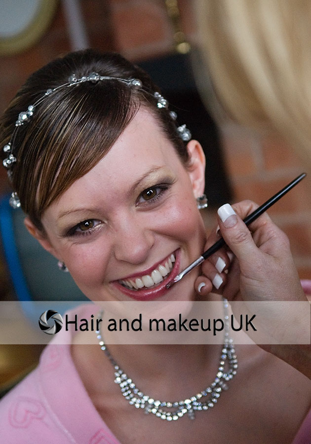 Bridal make up artists and hair stylists for your UK weddings