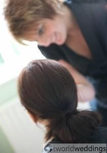 Wedding hair and make up Lichfield Staffordshire