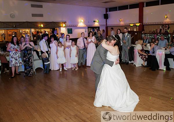 Wedding photograph taken in Tamworth