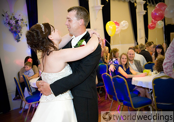 Wedding photograph taken in Stoke on trent