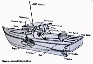 Commercial Fishing Boat Diagram