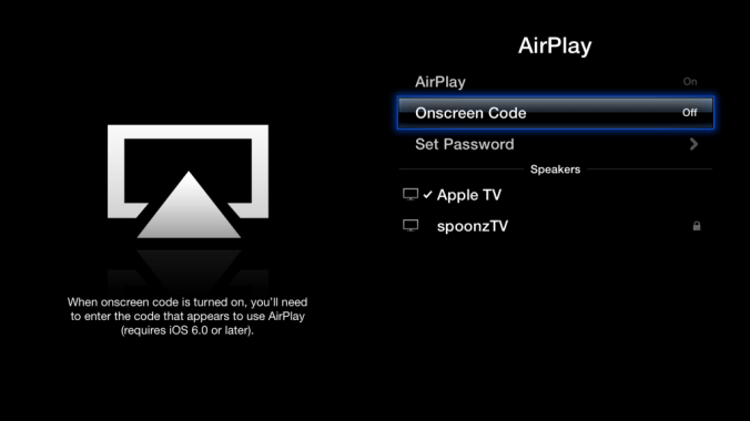 AirPlay en Apple TV 3