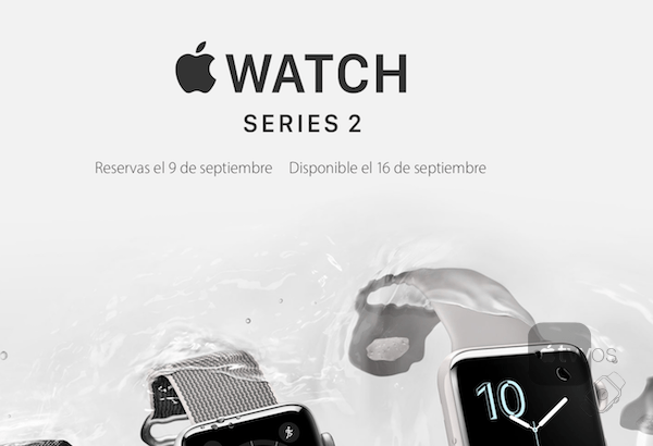 lanzamiento Apple Watch Series 2