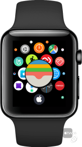 icono de Wallet en Apple Watch