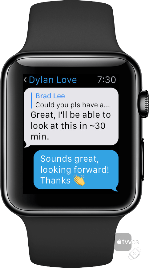Telegram para Apple Watch