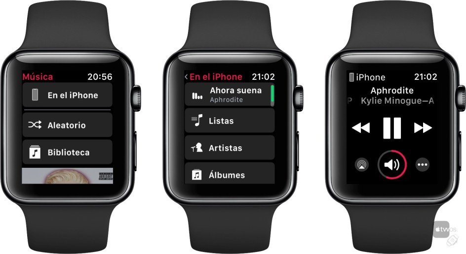 Música en watchOS 4.3 beta 1