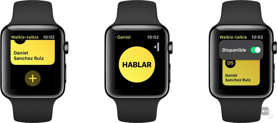 Walkie Talkie en watchOS 5