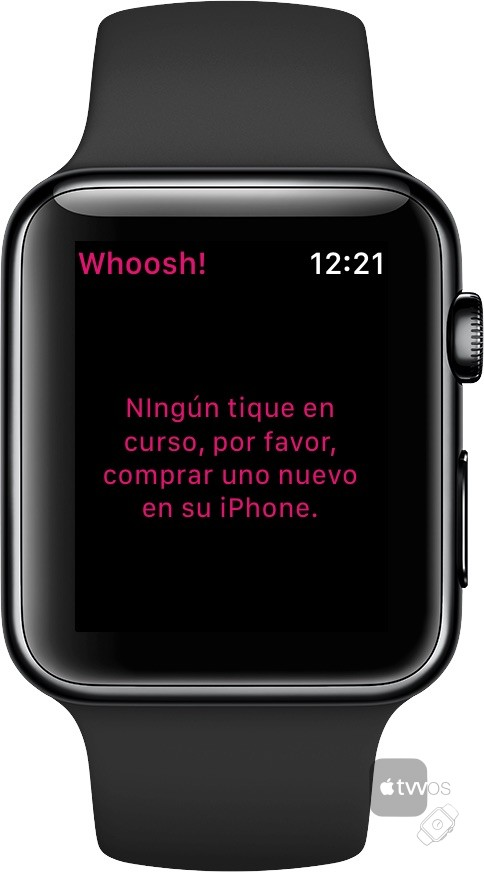 Whoost requiere del iPhone para alta de ticket