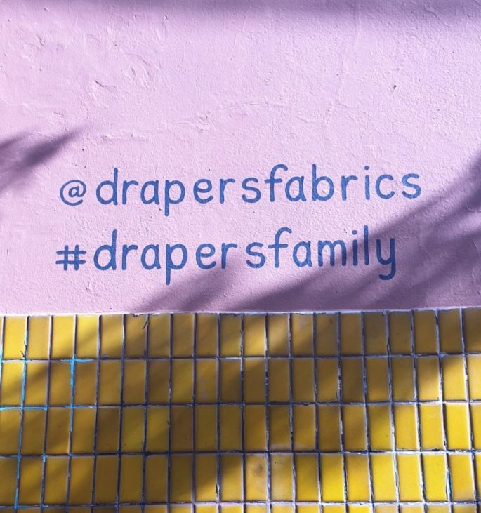 Drapers Fabric Fitzroy