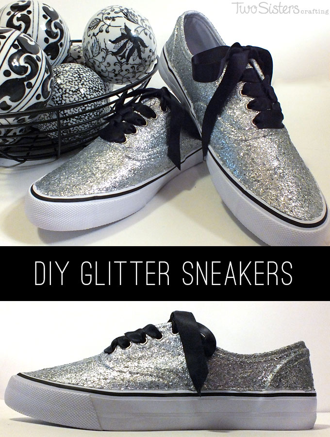 Glitter Sneakers Two Sisters