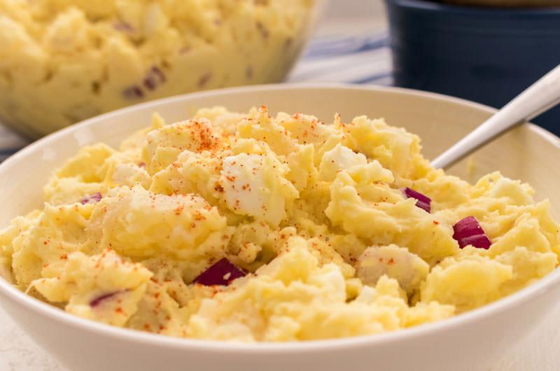 Easy Potato Salad Recipe With Apple Cider Vinegar