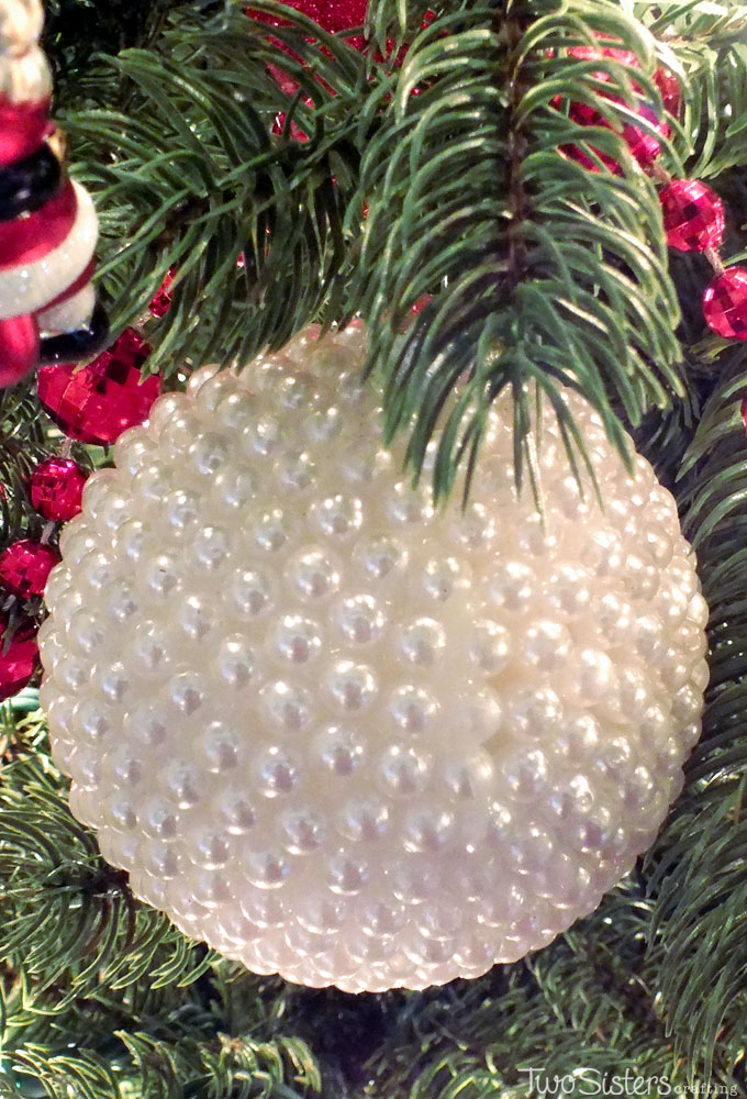 These Pearl Christmas Tree Ornaments are a fun craft that results in beautifully unique Christmas Ornaments that you can make for yourself or as a fun DIY Christmas Gift. Pin this Christmas Craft for later or follow us for more great Christmas Decoration ideas and crafts.