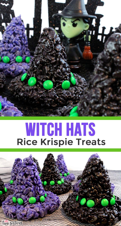 Witch Hats Rice Krispie Treats