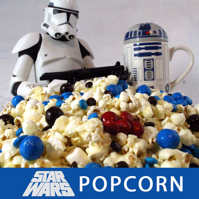 Star Wars Popcorn Two Sisters Crafting