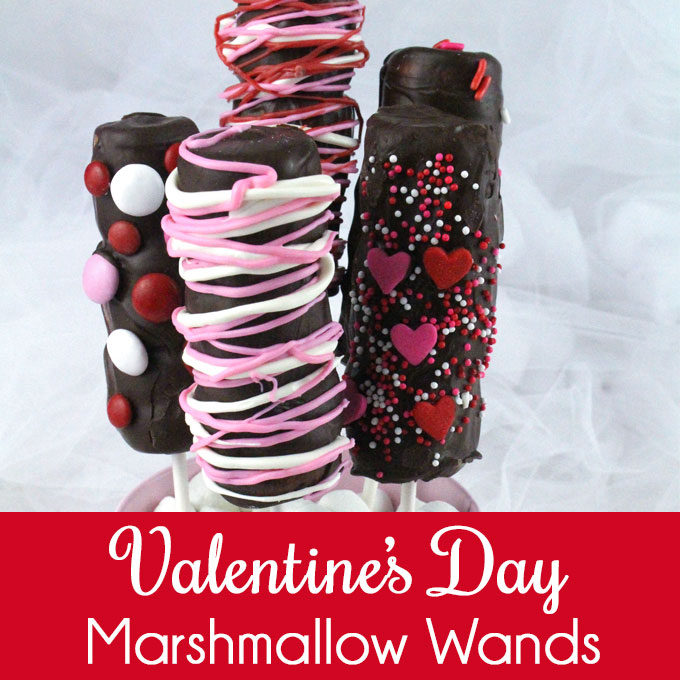 Valentines Day Marshmallow Wands Two Sisters Crafting
