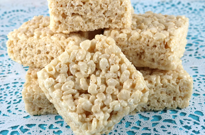 The Best Ever Rice Krispie Treat Recipe Two Sisters