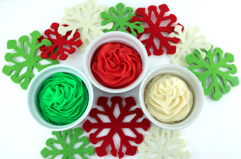 How to Make Christmas Frosting - Two Sisters
