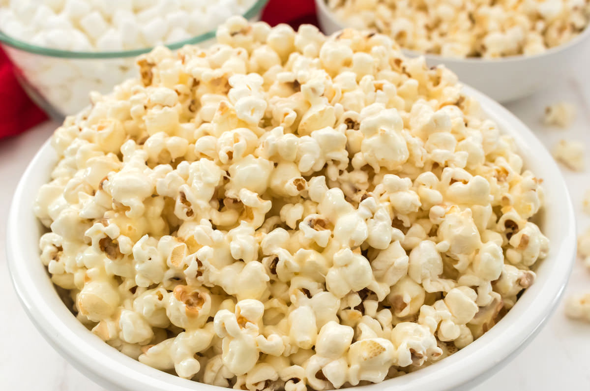Marshmallow Popcorn - Two Sisters
