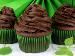 The Best Chocolate Mint Buttercream Frosting
