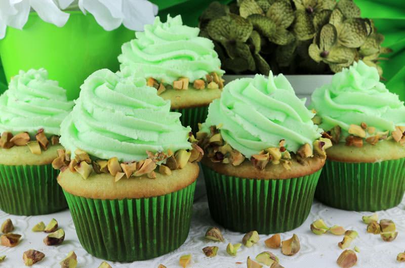 Pistachio Cupcake - Easter Dessert