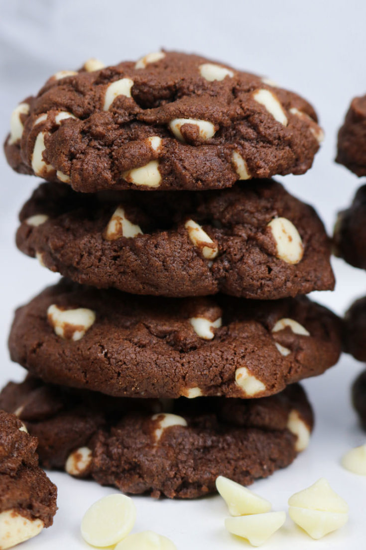 Chocolate White Chocolate Chip Cookies Two Sisters