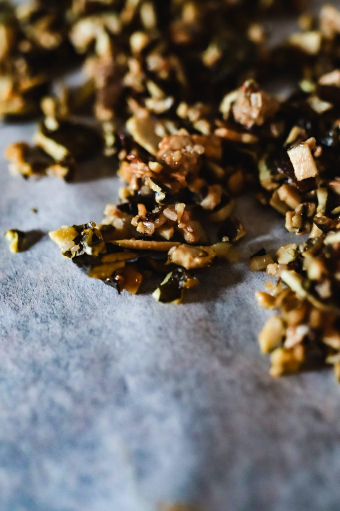 cramelized pumpkin seeds