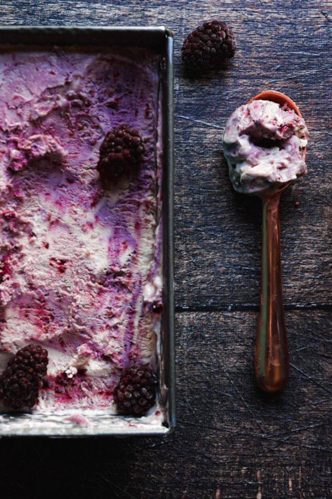 summer recipes, summer dessert , lavender, blackberries