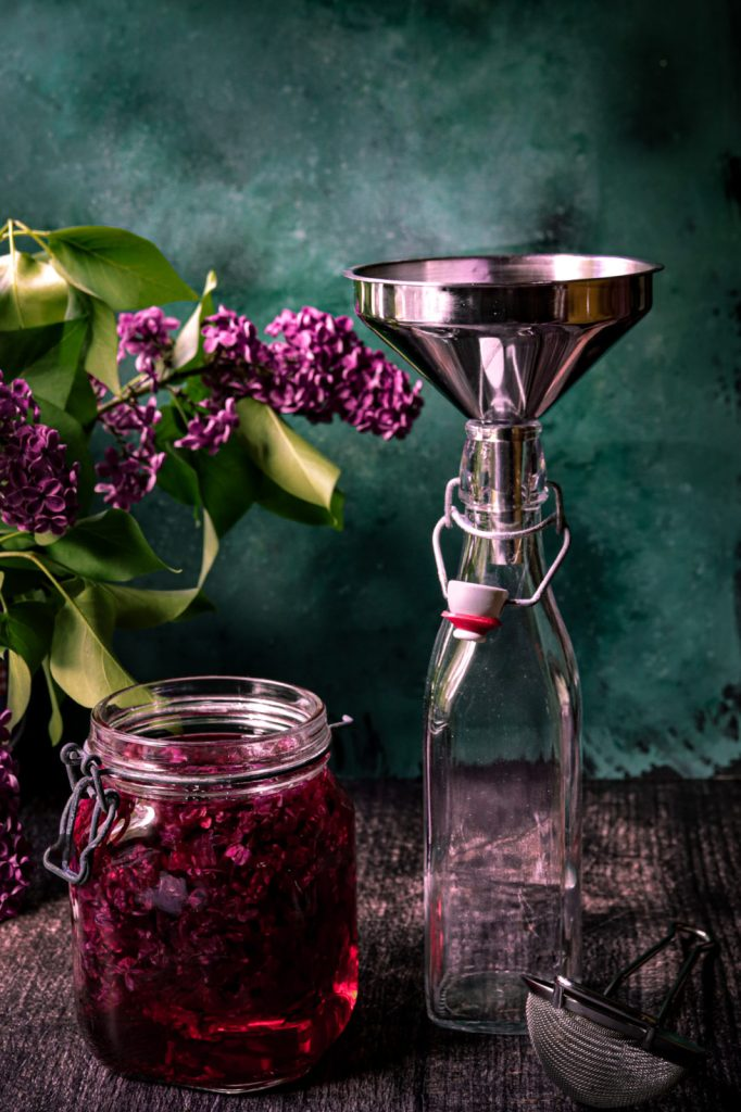 lilac flowers recipe, spring