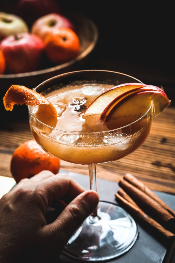 festive drinks recipe, cocktails, whiskey , jack Daniel's honey , pumpkin spice