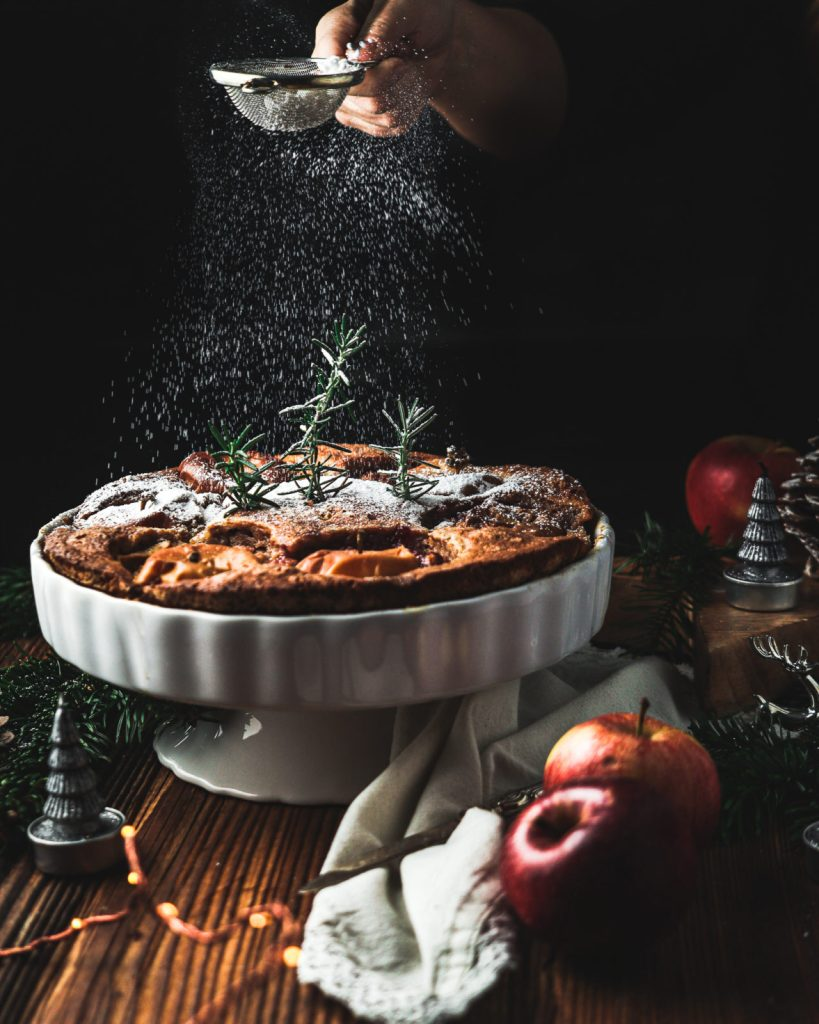 baked apples, apple cake recipes, sourdough starter discard recipes, dessert ideas, apple cinnamon cake. what to do with sourdough discard, winter cake, easy