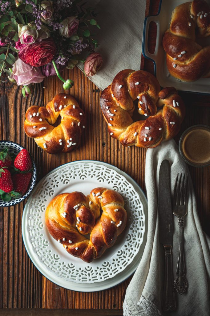 mother's day , homemade gift . brioche dough, sweet bread recipe