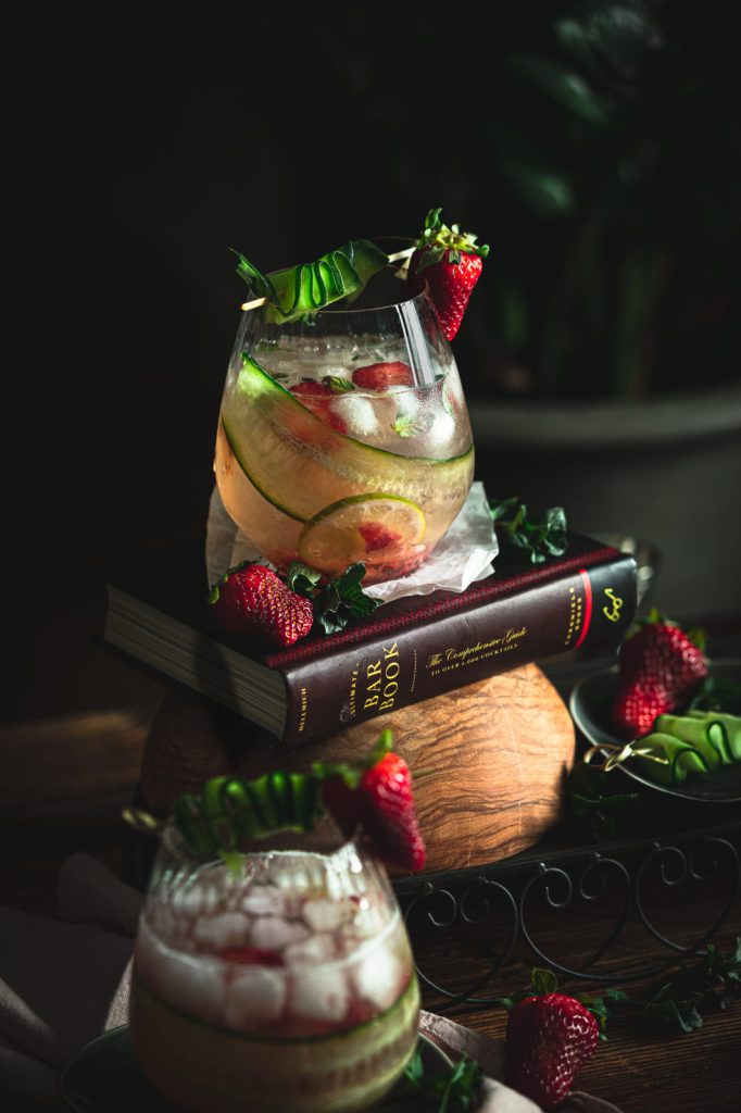 summer drink recipe, strawberry mojito, cocktail recipe , rum cocktail recipe