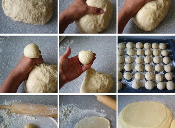 Simple Homemade Tortillas