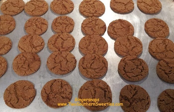 Can't Eat Just One Gingersnaps