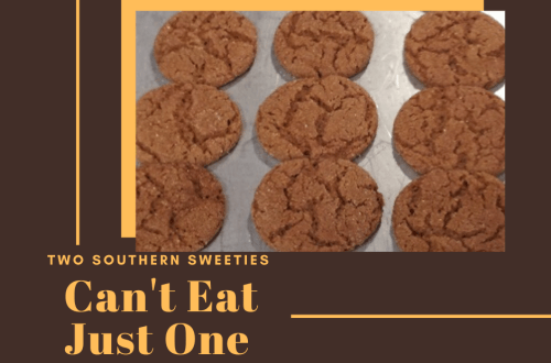 These are the best gingersnap cookies. You will never be able to eat just one of these gingersnaps