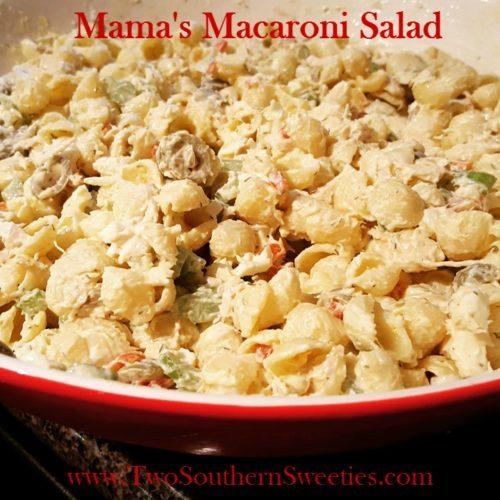Mamas Macaroni Salad