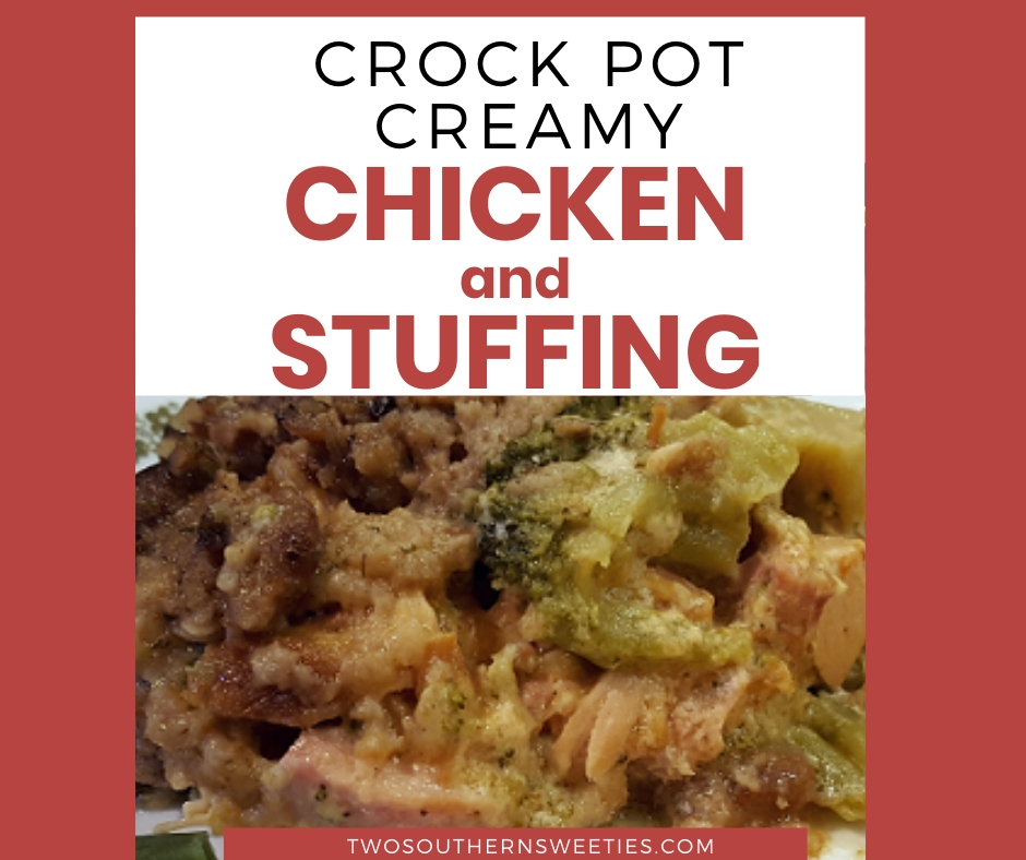 Crock Pot Creamy Chicken And Stuffing