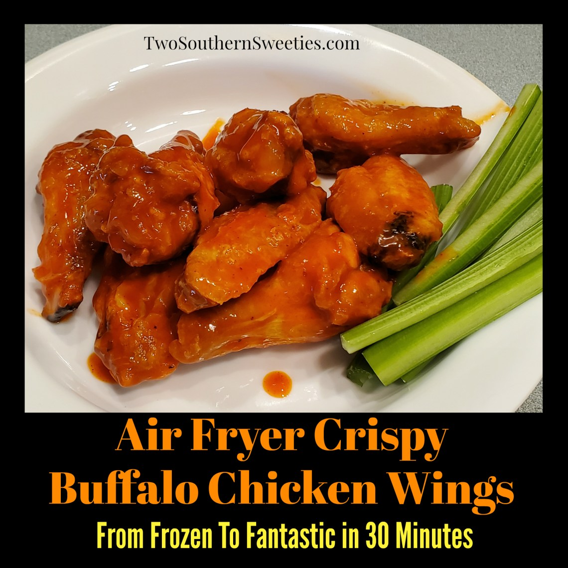 Air Fryer Crispy Buffalo Chicken Wings