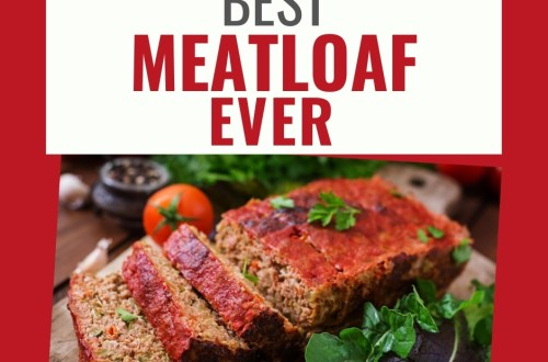 Best Meatloaf Ever - This Southern style meatloaf recipe will be your family's new favorite. Great for dinner and for leftovers as a sandwich. Reminiscent of diner Blue Plate Special's. Meatloaf, diner, southern cooking, southern food, quick dinner, family #southern #comfortfood