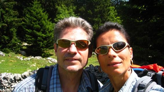 Sur la crête en allant vers le Mont Tendre - Montricher - Vaud - Suisse