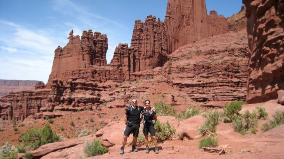 Fisher Towers - Moab - Utah
